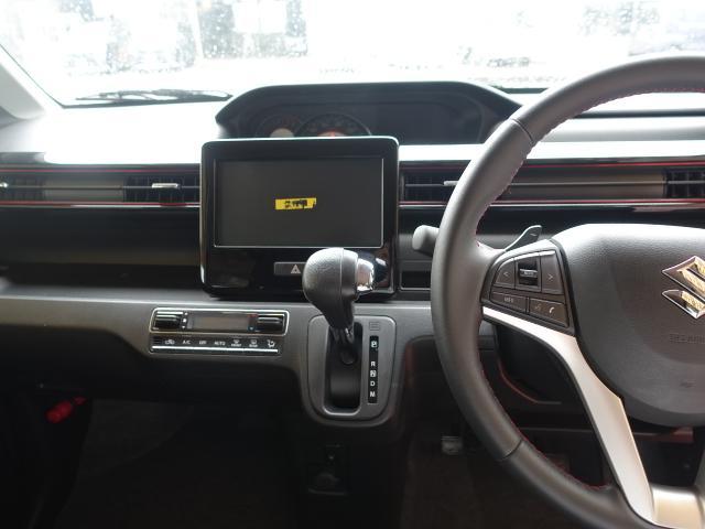 ハイブリッドT /ターボ/プッシュスタート/衝突被害軽減ブレーキ/LEDヘッド&フォグ/シートヒーター/オートライト/オートエアコン/革巻きハンドル/オートクルーズ/ディーラー試乗車(16枚目)