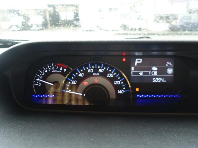 ハイブリッドT /ターボ/プッシュスタート/衝突被害軽減ブレーキ/LEDヘッド&フォグ/シートヒーター/オートライト/オートエアコン/革巻きハンドル/オートクルーズ/ディーラー試乗車(24枚目)