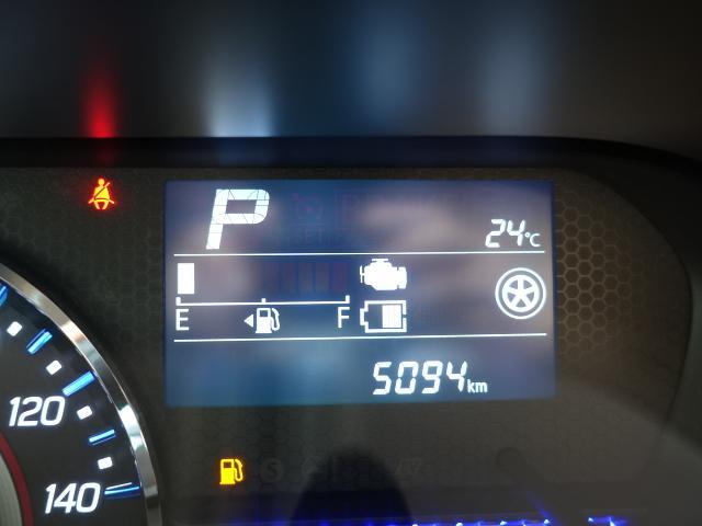 ハイブリッドT /ターボ/プッシュスタート/衝突被害軽減ブレーキ/LEDヘッド&フォグ/シートヒーター/オートライト/オートエアコン/革巻きハンドル/オートクルーズ/ディーラー試乗車(25枚目)
