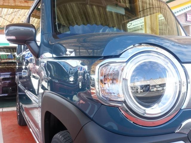 Jスタイル /LEDヘッドライト&フォグ/ボンネットエンブレム/ルーフレール/アルミホイール/衝突被害軽減ブレーキサポート/スマートキー/シートヒーター/オートエアコン/リモート格納ドアミラー/届出済未使用車(23枚目)