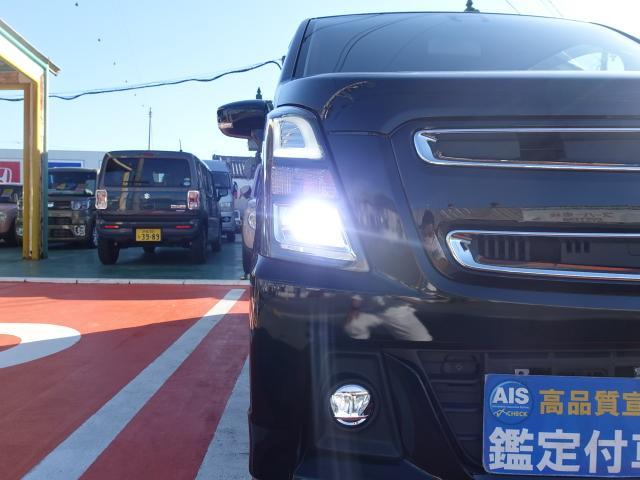 ハイブリッドT /ターボ/プッシュスタート/衝突被害軽減ブレーキ/LEDヘッド&フォグ/シートヒーター/オートライト/オートエアコン/革巻きハンドル/オートクルーズ/ディーラー試乗車(32枚目)