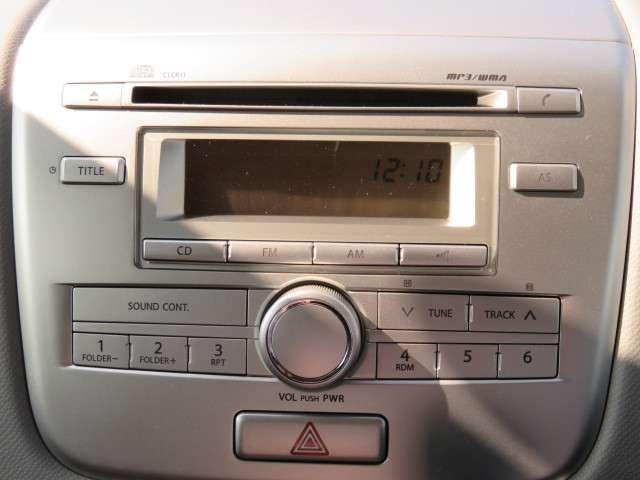 マツダ AZワゴン 660 XG 純正CDデッキ キーレス