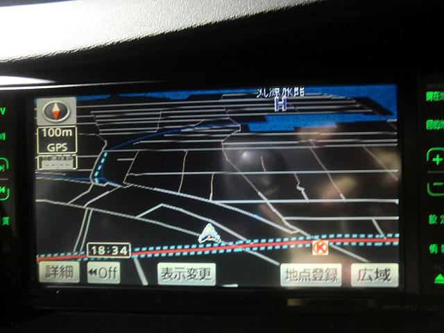 トヨタ アイシス プラタナ HDDナビ地デジ バックカメラ パワースライド