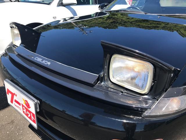 トヨタ セリカ コンバーチブル 17インチアルミホイール レザーシート