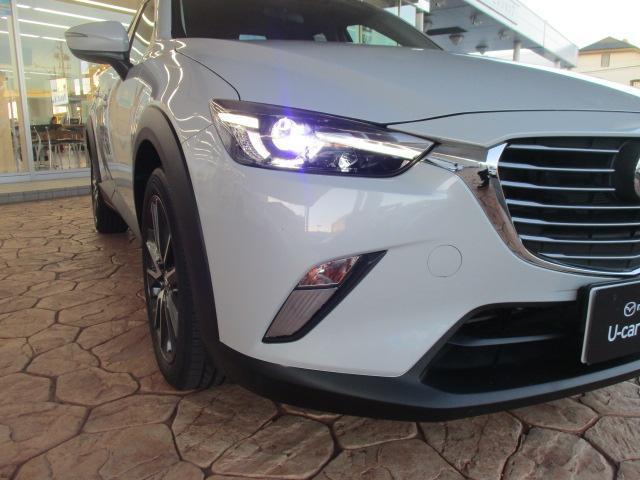 少ない電力で前方を明るく照らすLEDヘッドライトを装備!夜間の運転のサポートをしっかりとしてくれますよ♪