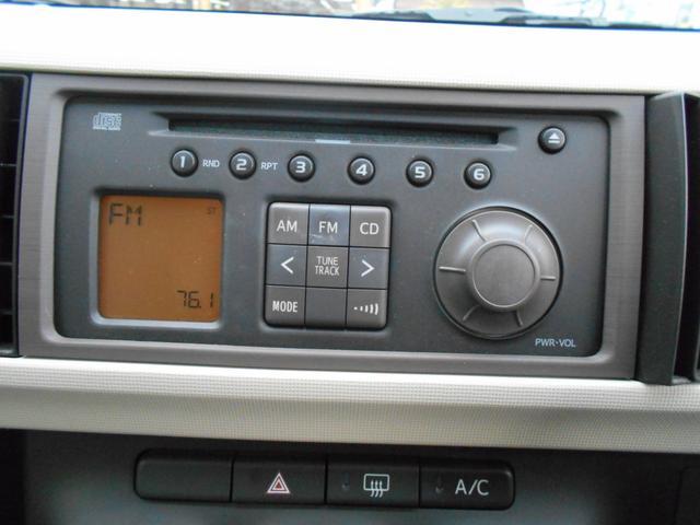 トヨタ パッソ X CDチューナー