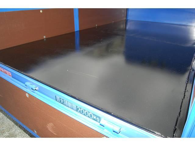 荷台鉄板張りです!状態も良く腐食や加工穴・大きな傷もありません!