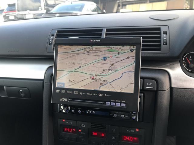 アウディ アウディ A4アバント 1.8T HDDナビ ETC キーレス