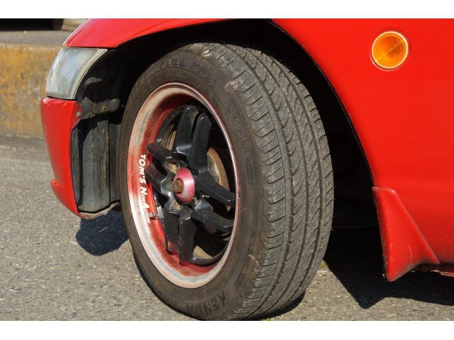 タイヤ溝もバッチリ。軽いので摩耗も少なく走れます
