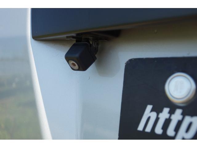 安心安全のバックカメラ付