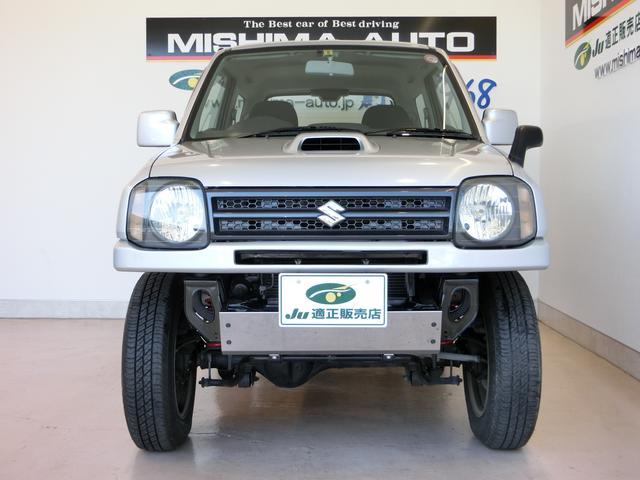 スズキ ジムニー XG 4WD 5速 公認リフトアップ 新品マフラー