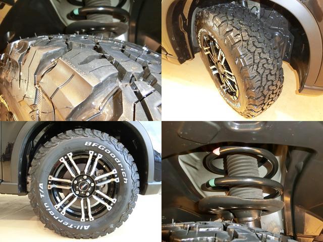 20X 4WD 新品16インチアルミ&グッドリッチ ナビTV(17枚目)