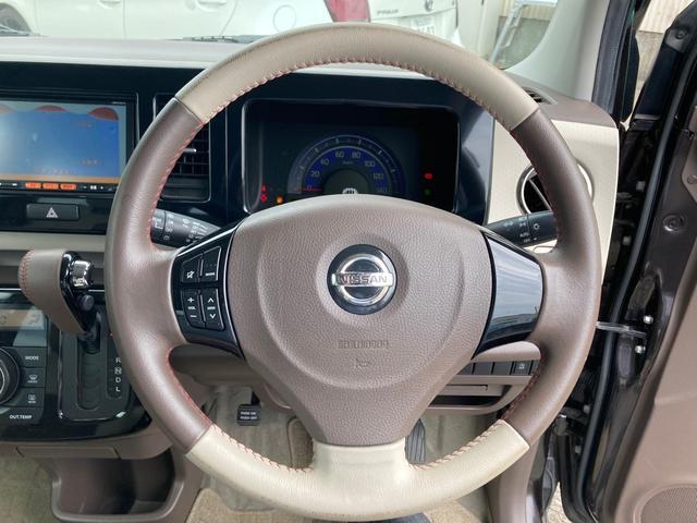ドルチェX SDナビフルセグ ウインカーミラー 修復歴無 バックカメラ AW 4名乗り オーディオ付 スマートキー プッシュスタート オートライト オートエアコン 専用レザーシート(3枚目)