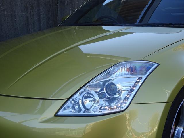 ☆人気の社外ヘッドライト☆LED(車幅灯)が格好良い配列で決まってます!!ボンネットもピカピカです♪
