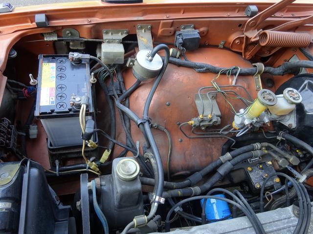 GL-E L20 MT AC PS PW 1オーナー フルノーマル ノンレストア 未板金 未塗装 純正シートカバーアリ 21000キロ(75枚目)