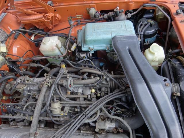 GL-E L20 MT AC PS PW 1オーナー フルノーマル ノンレストア 未板金 未塗装 純正シートカバーアリ 21000キロ(76枚目)