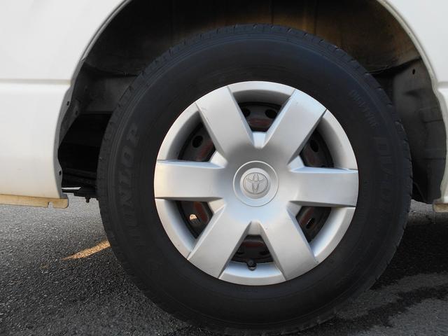 トヨタ ハイエースバン ロングDX・純正ナビ・パワステ・エアコン