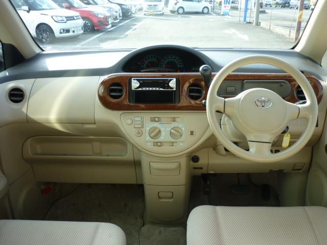 トヨタ ポルテ 130i 電動スライドドア ETC CD再生 ベージュ内装