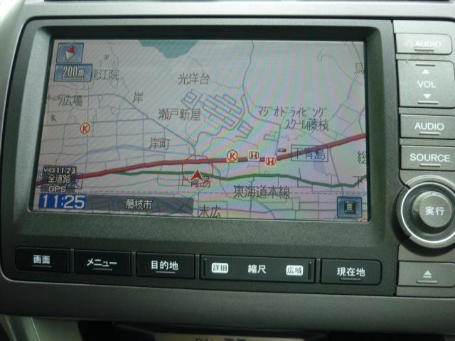 X 純正HDDナビ CD録音DVD再 BカメラETC HID(5枚目)