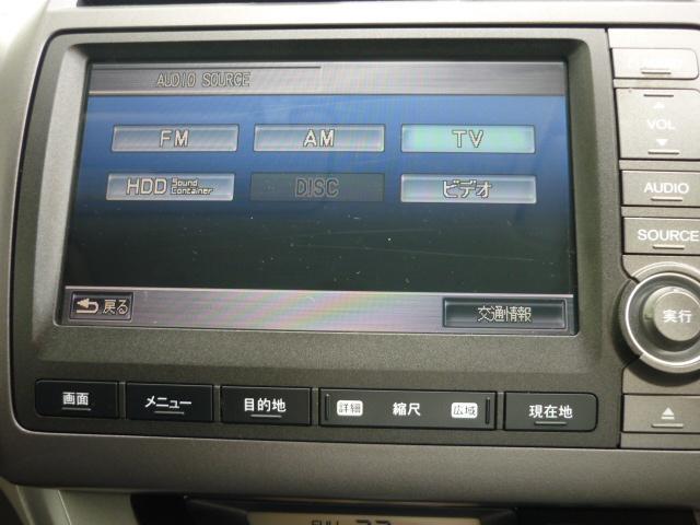 X 純正HDDナビ CD録音DVD再 BカメラETC HID(6枚目)