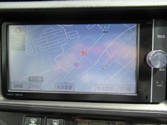 S 純正SDナビ 地デジTV Bluetooth DVD再生 バックカメラ ETC 前後席ブルーイルミネーション ヘッドライトウォッシャー 左右シートヒーター(5枚目)