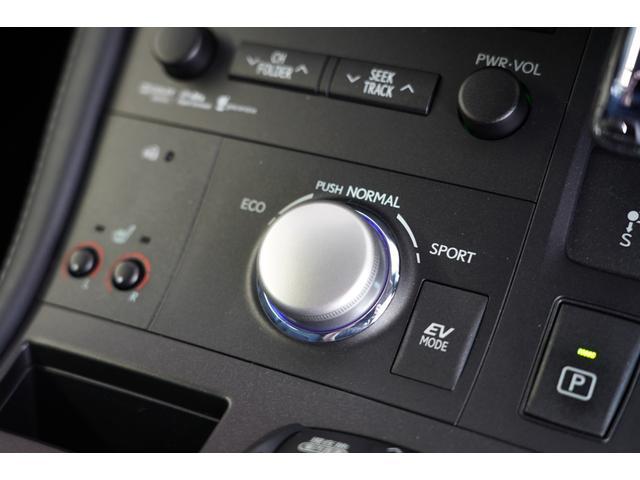 CT200h バージョンC エスプリFバンパー スピンドルグリル ゴーストライン19インチAW LEDヘッドライト ナビ 地デジ ブルートゥースオーディオ バックカメラ ETC シートヒーター(34枚目)