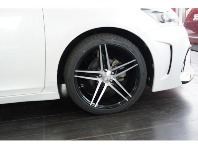 ゴーストライン18インチホイール&タイヤ 4本新品装着
