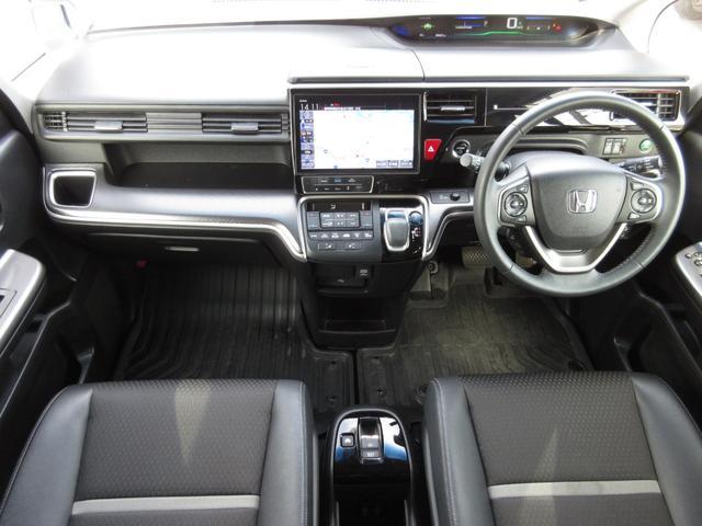 スパーダハイブリッド G・EX ホンダセンシング 9インチメモリーナビ フルセグ Bluetooth USB 両側電動スライドドア フロントドライブレコーダー 前席シートヒーター 禁煙車(9枚目)