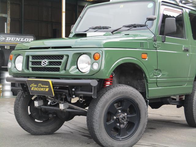 4WD オールペイント エアコン ルーフキャリア(5枚目)