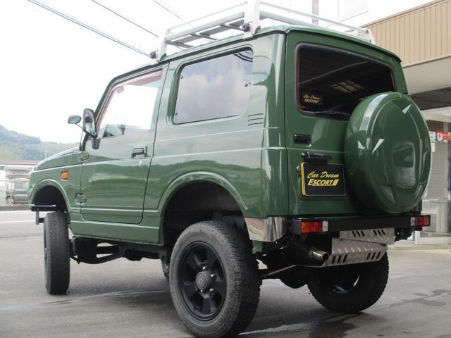 4WD オールペイント エアコン ルーフキャリア(7枚目)