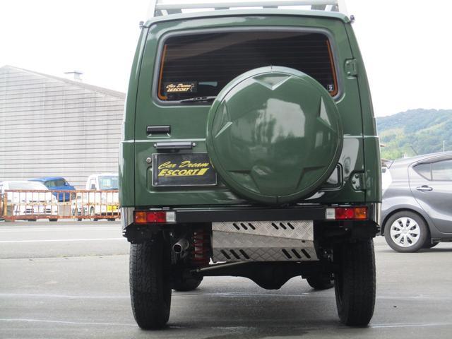 4WD オールペイント エアコン ルーフキャリア(8枚目)