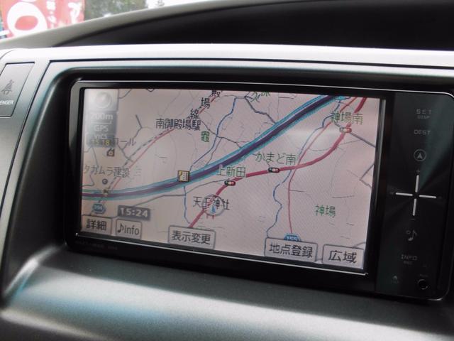 トヨタ エスティマ X フルセグナビ バックカメラ 両側パワースライド