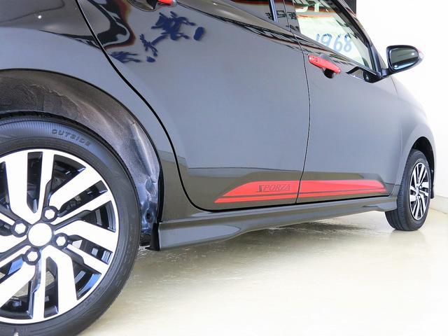 純正フルエアロ&グリル&アルミ レッドストライプ ガーニッシュ一式 可愛らしい車種ブーンイのメージが180度変わりますね