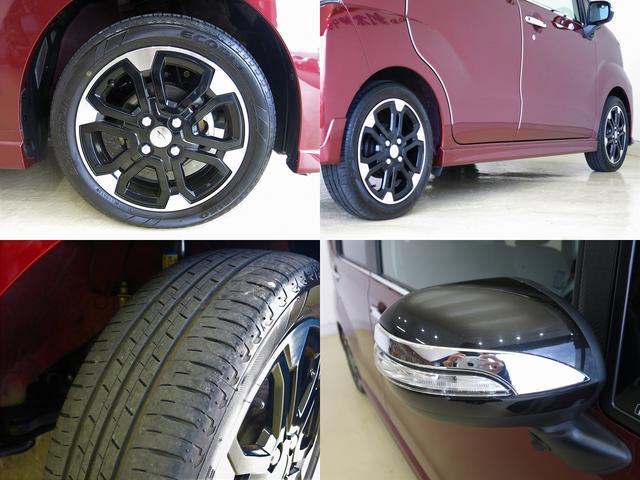 カスタム RS ハイパーSA ターボ スマートアシスト 屋根黒ツートンカラー 純正8型ナビ メッキパーツ 室内イルミネーション(8枚目)