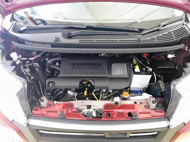 カスタム RS ハイパーSA ターボ スマートアシスト 屋根黒ツートンカラー 純正8型ナビ メッキパーツ 室内イルミネーション(20枚目)