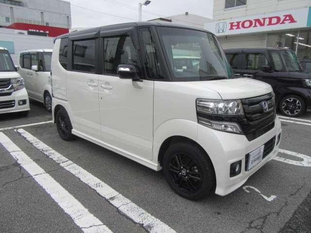「ホンダ」「N-BOX+カスタム」「コンパクトカー」「静岡県」の中古車12