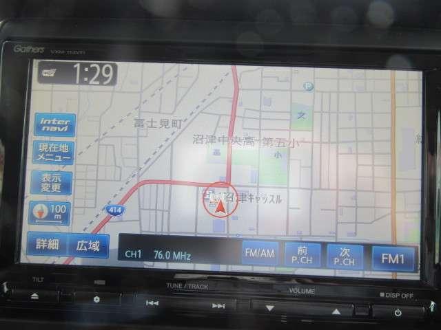 G・ターボLパッケージ ナビ CTBA Bluetooth 後席スライド 両側パワードア ワンオーナ ABS アルミ メモリナビ 禁煙車 DVD リヤカメラ クルコン スマートキー フルセグ HID ETC ターボ キーレス(5枚目)