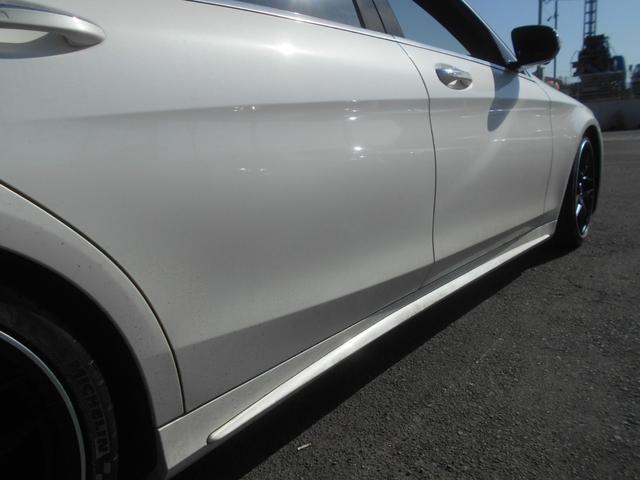 S550ロング AMGスポーツパッケージ 65スタイルエアロ 後期ヘッドライト AMGタイプ20AW ローダウン(12枚目)