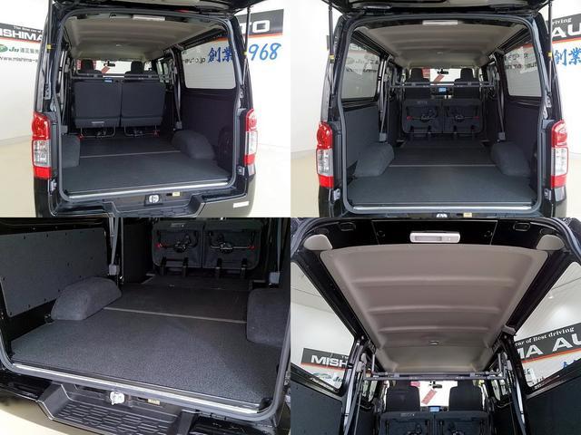日産 NV350キャラバンバン 限定車 5thーDX 床張り装着車