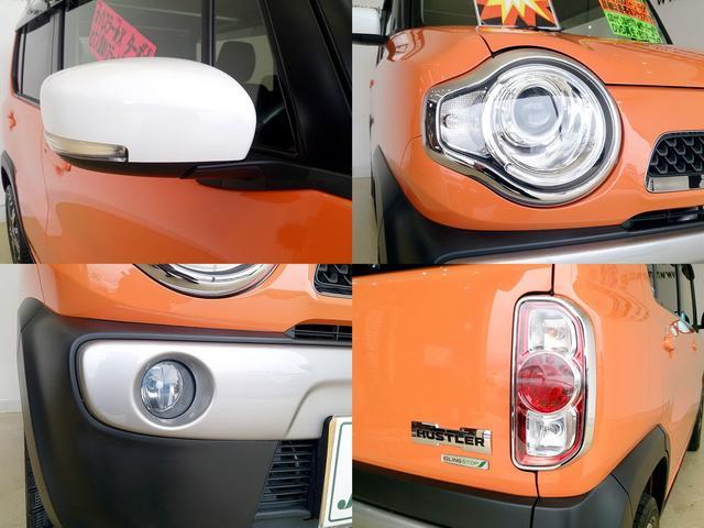 スズキ ハスラー 660Xターボ ホワイトルーフツートン