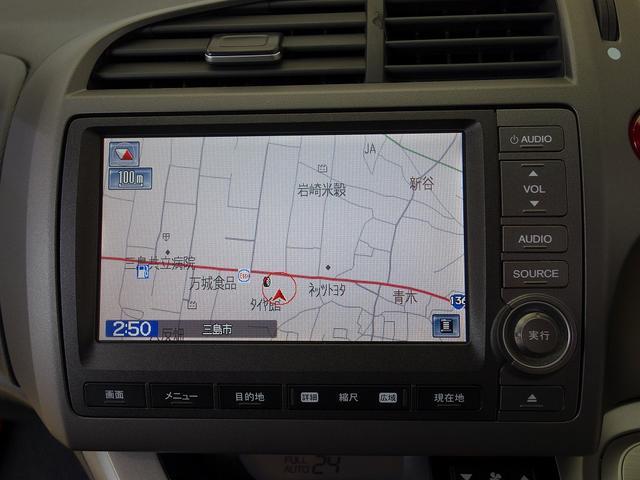ホンダ ストリーム RSZ HDDナビパッケージ 後期型 モデューロフルエアロ