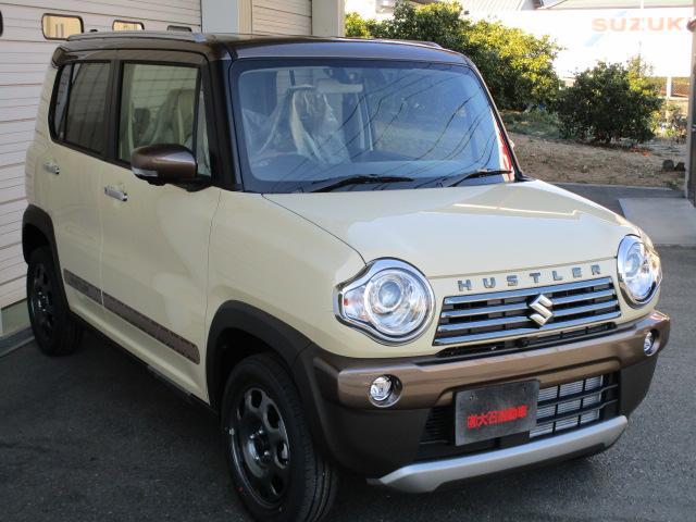 「スズキ」「ハスラー」「コンパクトカー」「静岡県」の中古車6