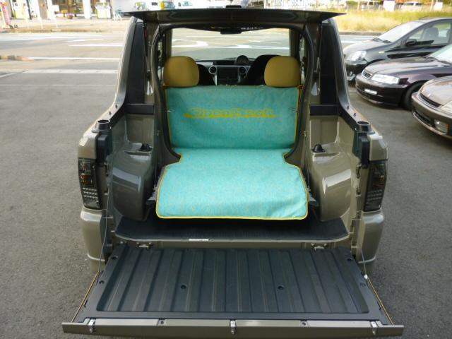 トヨタ bB オープンデッキ6速マニュアル換装スーパーチャージャー全塗装