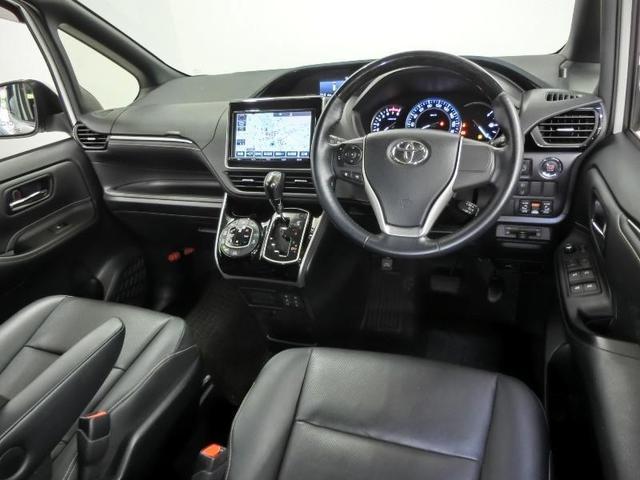 Gi トヨタセーフティセンス 8人乗り 両側電動スライドドア ドライブレコーダー 後席モニター ETC スマートキー クルーズコントロール LEDヘッドライト 純正15インチアルミホイール 禁煙車(3枚目)