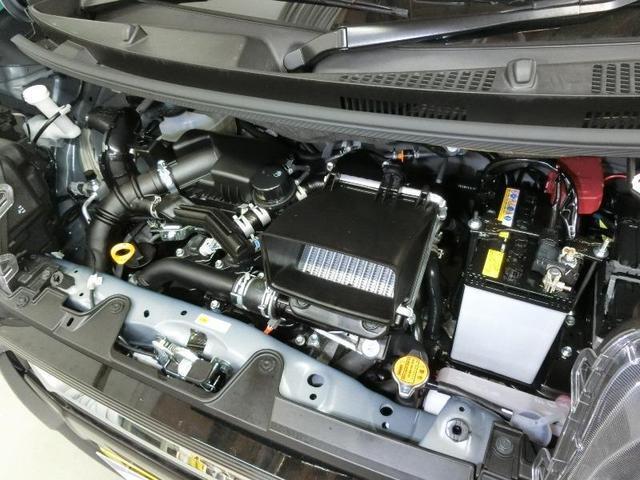 カスタムRS ターボエンジン スマートアシストIII LEDヘッドライト クリアランスソナー 両側電動スライドドア 純正15インチアルミホイール ベンチシート アイドリングストップ スマートキー カーテンエアバッグ(10枚目)