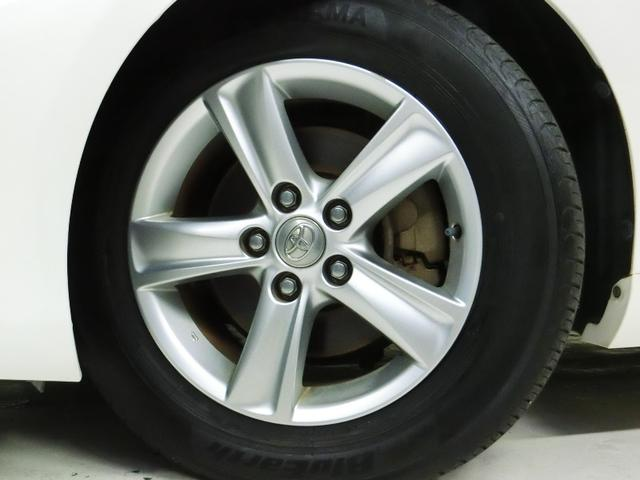 純正アルミホイール・タイヤは4本とも新品に交換します!