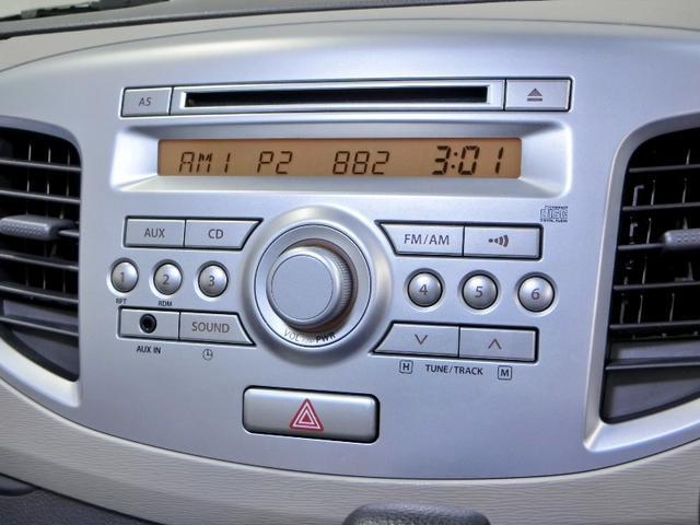 スズキ ワゴンR FX CDデッキ アイドリングストップ 禁煙車