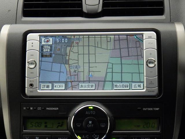 トヨタ アリオン A18Gパッケージスタイリッシュエディション メモリーナビ