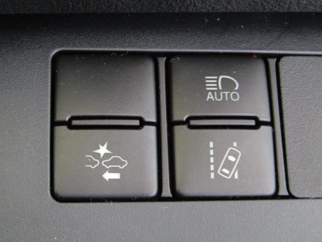 トヨタセーフティセンス(車線はみ出しアラート・被害軽減ブレーキ等)装備車両。安全運転をサポートします!