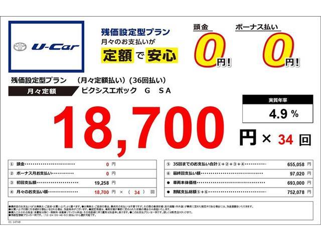 「トヨタ」「ピクシスエポック」「軽自動車」「静岡県」の中古車3